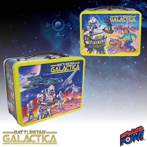 Battlestar Galactica Retro Tin Tote