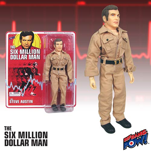 50% Off The Six Million Dollar Man Collectibles