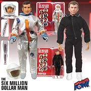 Six Million Dollar Man Steve Austin & Barney Hiller Figures