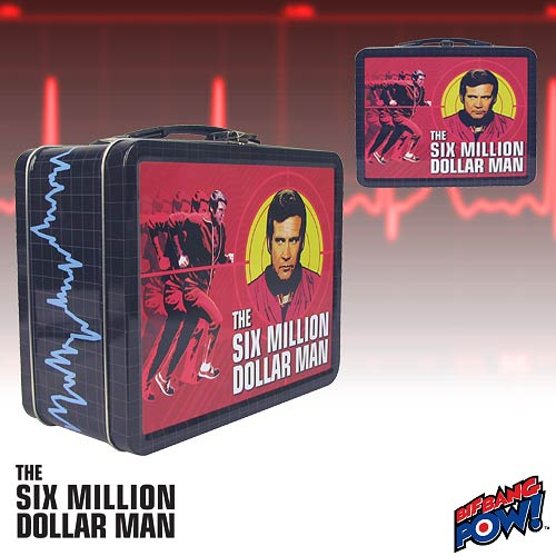 Six Million Dollar Man Tin Tote
