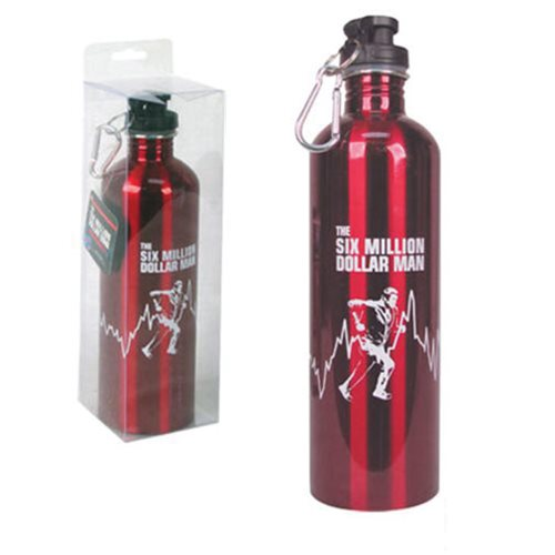Six Million Dollar Man 750 ml Water Bottle