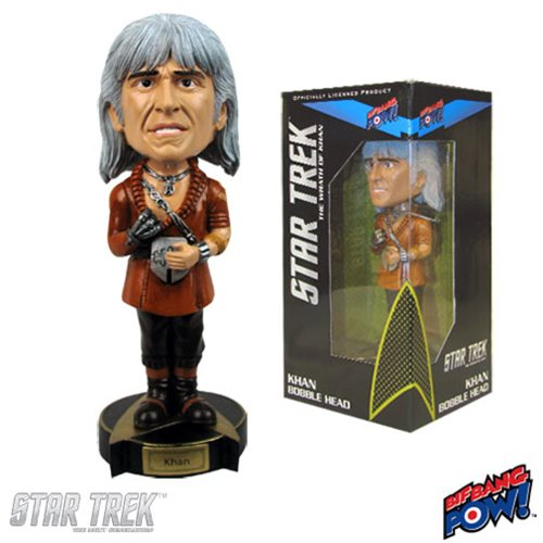 Star Trek II: The Wrath of Khan Khan Bobble Head