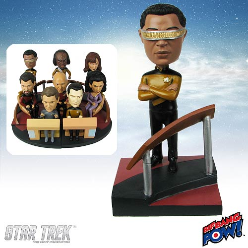 Star Trek: TNG La Forge Build-a-Bridge Deluxe Bobble 3 of 8