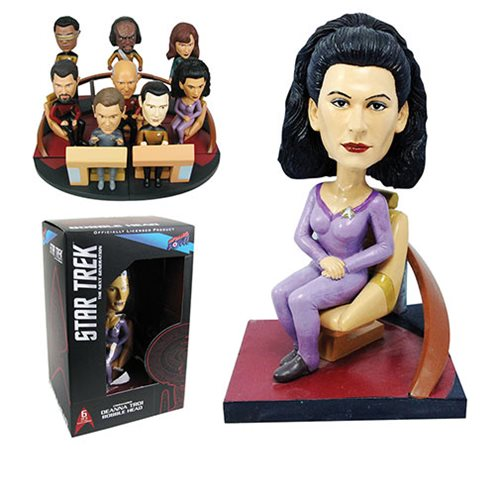 Star Trek: TNG Troi Build-a-Bridge Deluxe Bobble Head 6 of 8