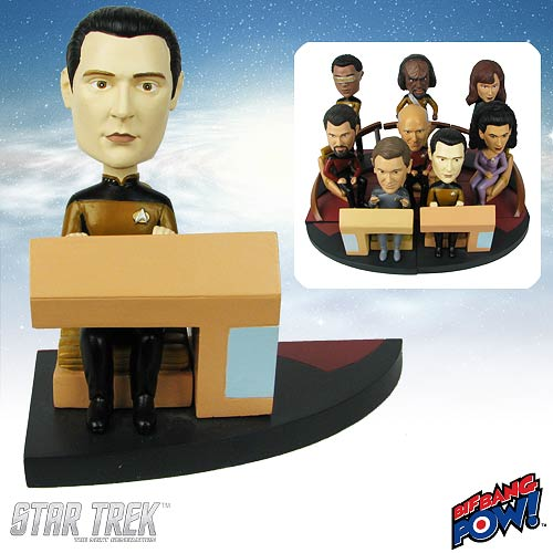 Star Trek: TNG Data Build-a-Bridge Deluxe Bobble Head 7 of 8