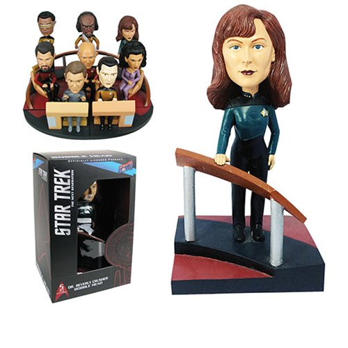 Star Trek TNG Dr Crusher Build-a-Bridge Deluxe Bobble 5 of 8