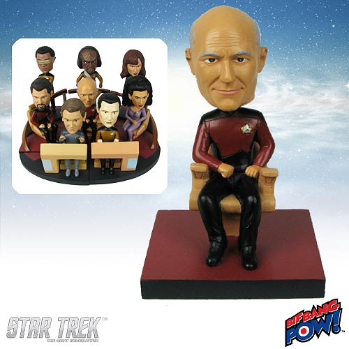 Star Trek: TNG Picard Build-a-Bridge Deluxe Bobble 8 of 8