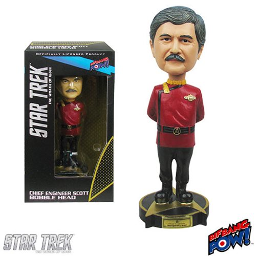 Star Trek II: The Wrath of Khan Engineer Scotty Bobble Head