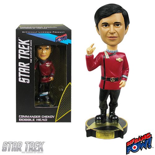 Star Trek II: The Wrath of Khan Commander Chekov Bobble Head