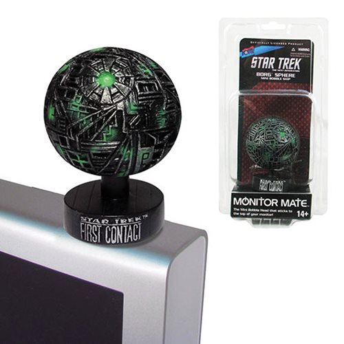 Star Trek: First Contact Borg Sphere Monitor Mate Ship