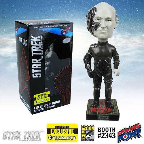 Star Trek: TNG Locutus Bobble Head - Convention Exclusive