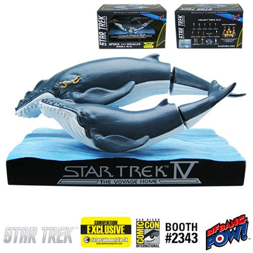Star Trek IV: Whales with Spock Bobble Head - Entertainment Earth Exclusive
