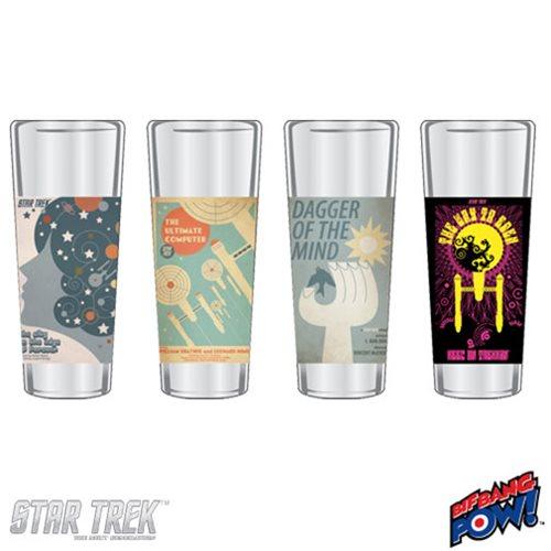 Star Trek The Original Series Fine Art Shot Glasses Set 1