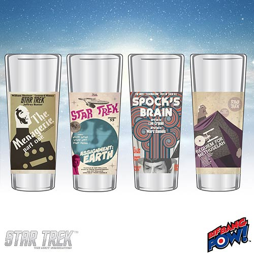 Star Trek The Original Series Fine Art Shot Glasses Set 10