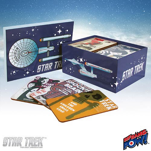 Star Trek TOS Fine Art Coasters Set 1 - Convention Exclusive