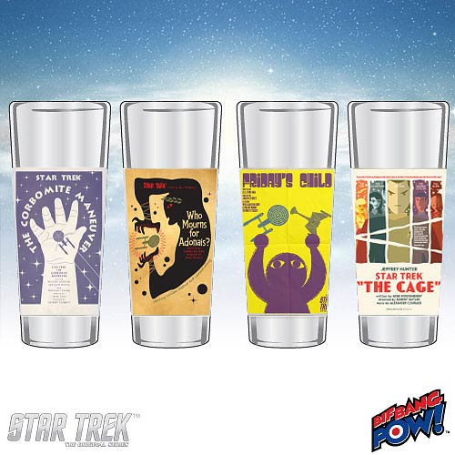 Star Trek The Original Series Fine Art Shot Glasses Set 19