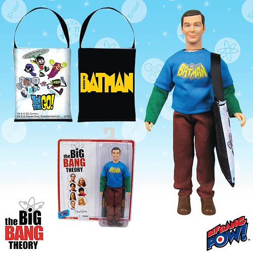 The Big Bang Theory Sheldon 8-Inch Actin Figure - Con. Excl.