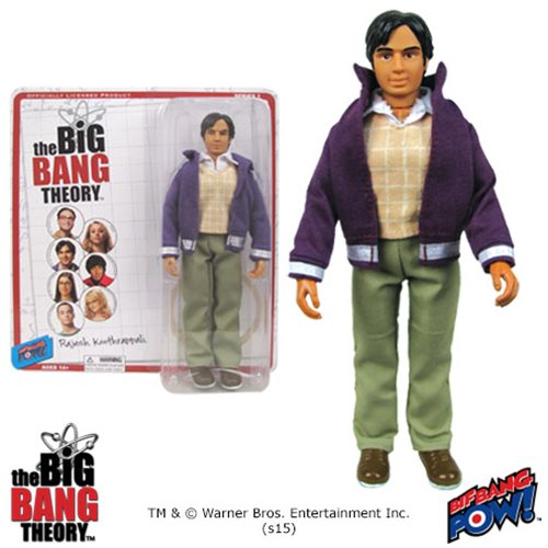The Big Bang Theory Raj 8-Inch Action Figure
