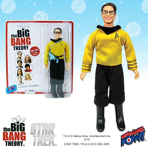 The Big Bang Theory / Star Trek Leonard 8-Inch Action Figure