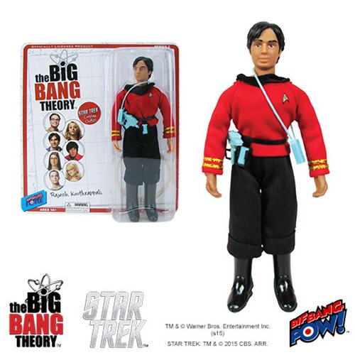 The Big Bang Theory / Star Trek Raj 8-Inch Action Figure