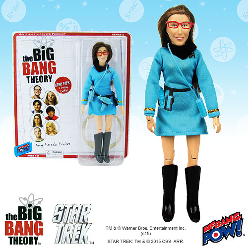 The Big Bang Theory / Star Trek Amy 8-inch Action Figure