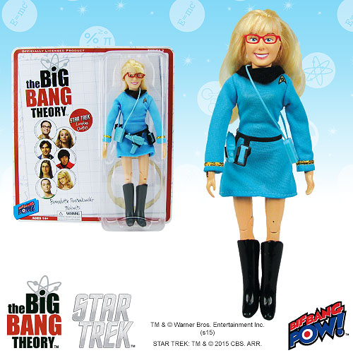 The Big Bang Theory / Star Trek Bernadette 8-Inch Figure