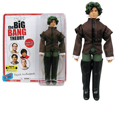 The Big Bang Theory Raj Gentleman 8-Inch Figure - Con. Excl.
