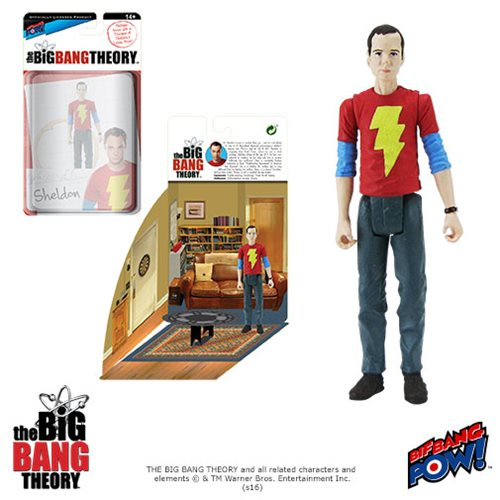 The Big Bang Theory Sheldon Shazam 3 3/4-Inch Fig