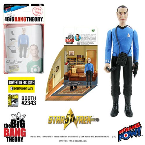 The Big Bang Theory/TOS Sheldon 3 3/4-Inch Figure -Con Excl.