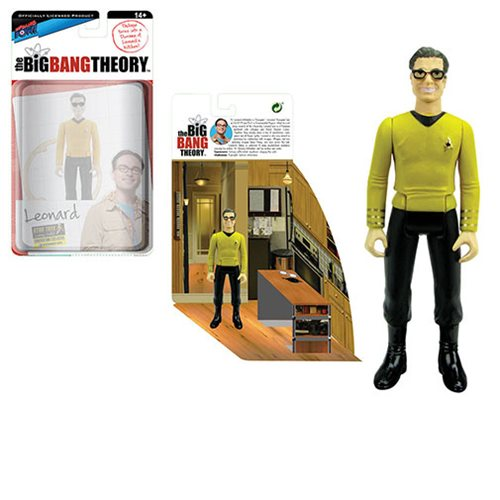 The Big Bang Theory/TOS Leonard 3 3/4-Inch Figure-Con Excl.