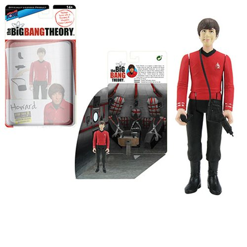 The Big Bang Theory/TOS Howard 3 3/4-Inch Figure - Con Excl.