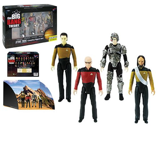 The Big Bang Theory/TNG 3 3/4 Figure Set - Convention Excl.