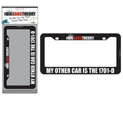 The Big Bang Theory 1701-D License Plate Frame