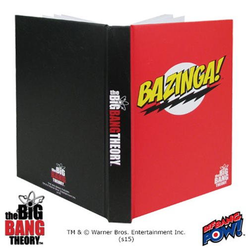 The Big Bang Theory BAZINGA! Red Journal