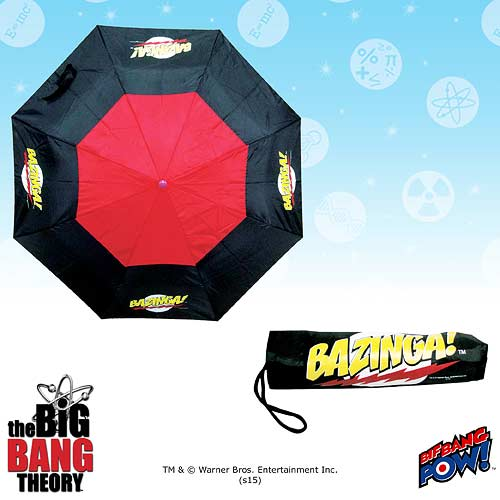 The Big Bang Theory BAZINGA! Tri-Fold Umbrella