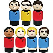 The Big Bang Theory/tos Pin Mate Set Of 7 - CoN. ExcL.