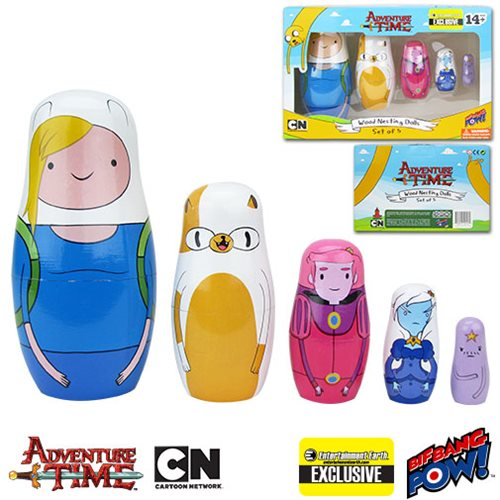 Adventure Time Nesting Dolls Set of 5 - EE Excl.