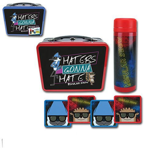 Regular Show Haters Gonna Hate Tin Tote Gift Set - Con.Excl.