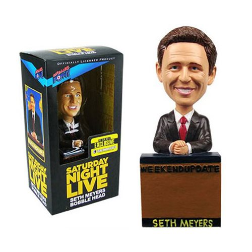 SNL Seth Meyers Weekend Update Bobble Head - Con. Exclusive