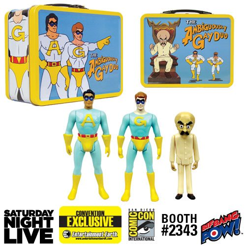 SNL Ace Gary Bighead 3 3/4-Inch Figures in Tin-Con Exclusive