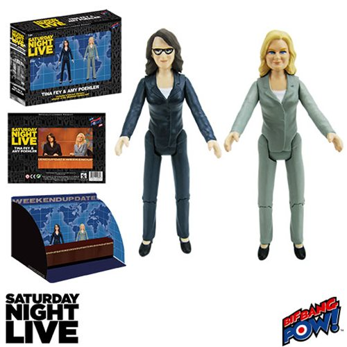 SNL Weekend Update Tina and Amy 3 1/2-Inch Action Figures