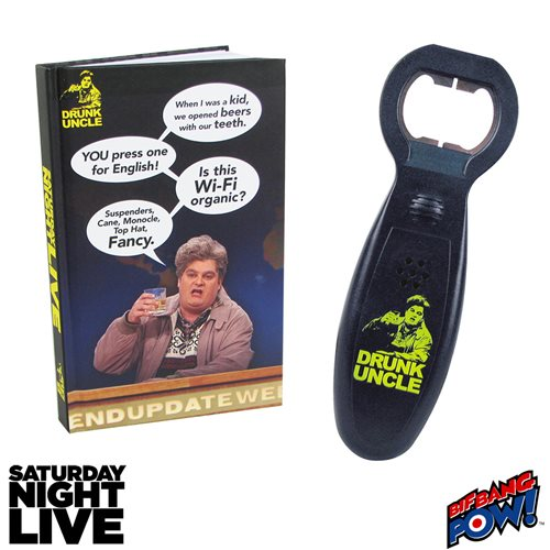 SNL Drunk Uncle Journal & Bottle Opener Sound Con Exclusive