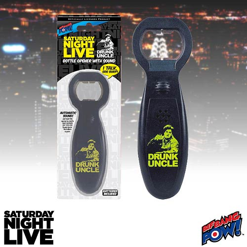 Saturday Night Live Drunk Uncle Bottle Opener with Sound
