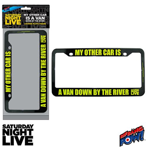 SNL Matt Foley My Other Car Is A Van License Plate Frame