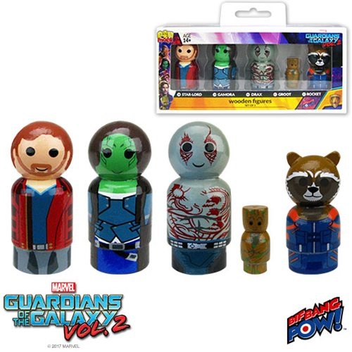 Guardians of the Galaxy Vol. 2 Pin Mate Set of 5