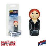 Captain America Civil War Black Widow Pin Mate Wooden Figure