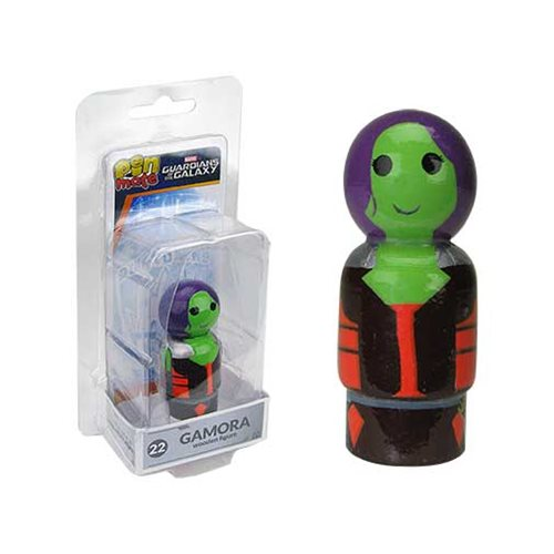 Guardians of the Galaxy Gamora Pin Mate Wooden Figure