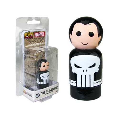 Punisher Pin Mate Wooden Figure