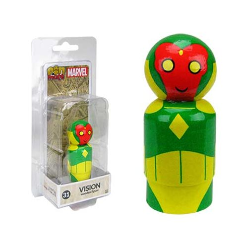 Vision Pin Mate Wooden Figure