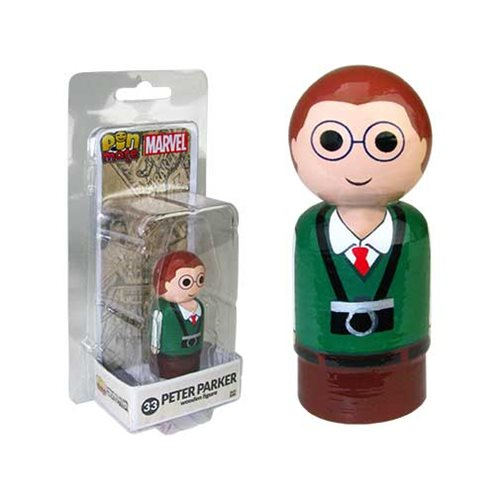 Peter Parker Pin Mate Wooden Figure